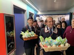 Uova conigli e carabinieri al Del ponte