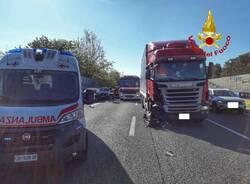 autostrada a8 incidente castellanza  2