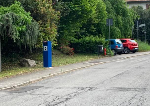 Autovelox, nuovi armadi per la rilevazione della velocità posizionati a Casciago