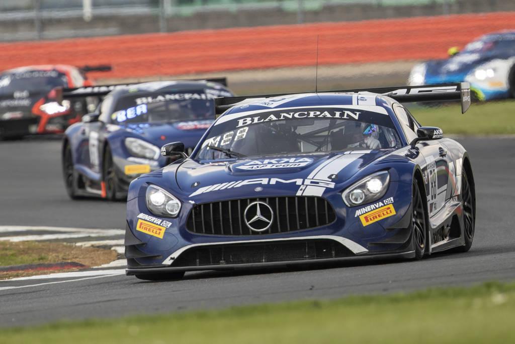 Blancpain Endurance Series sul circuito di Silverstone