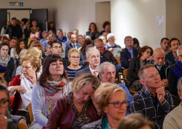 Il confronto elettorale a Castiglione Olona