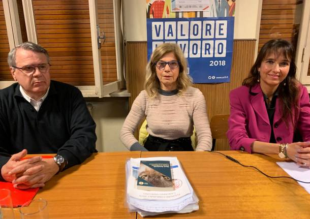 Confronto tra i candidati a Caronno Varesino
