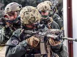 Esercitazione antiterrorismo a Ferno