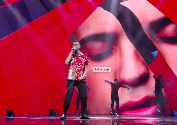 Eurovision song contest: Mahmood secondo