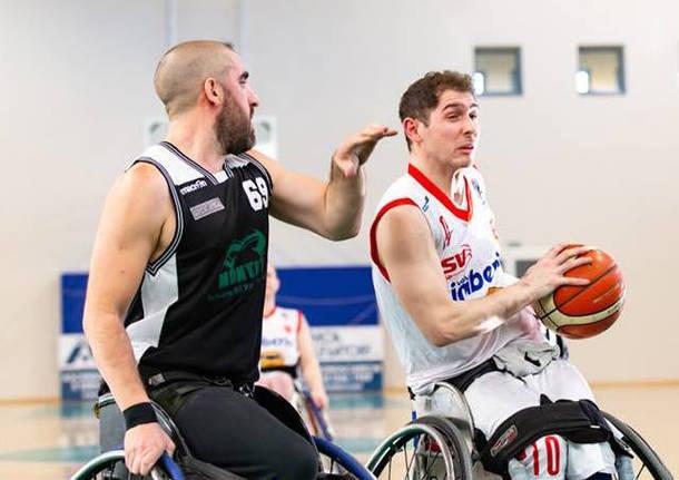 gabriele silva basket in carrozzina handicap sport varese