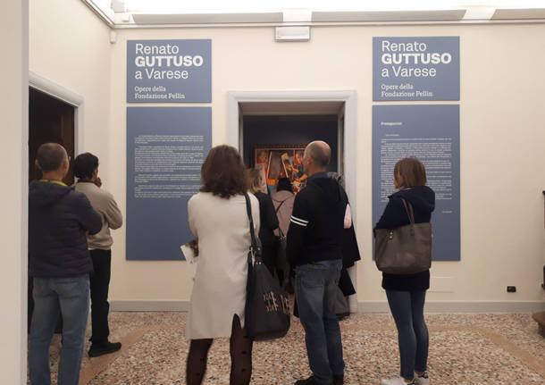 Guttuso a Villa Mirabello: tanti visitatori nella prima giornata