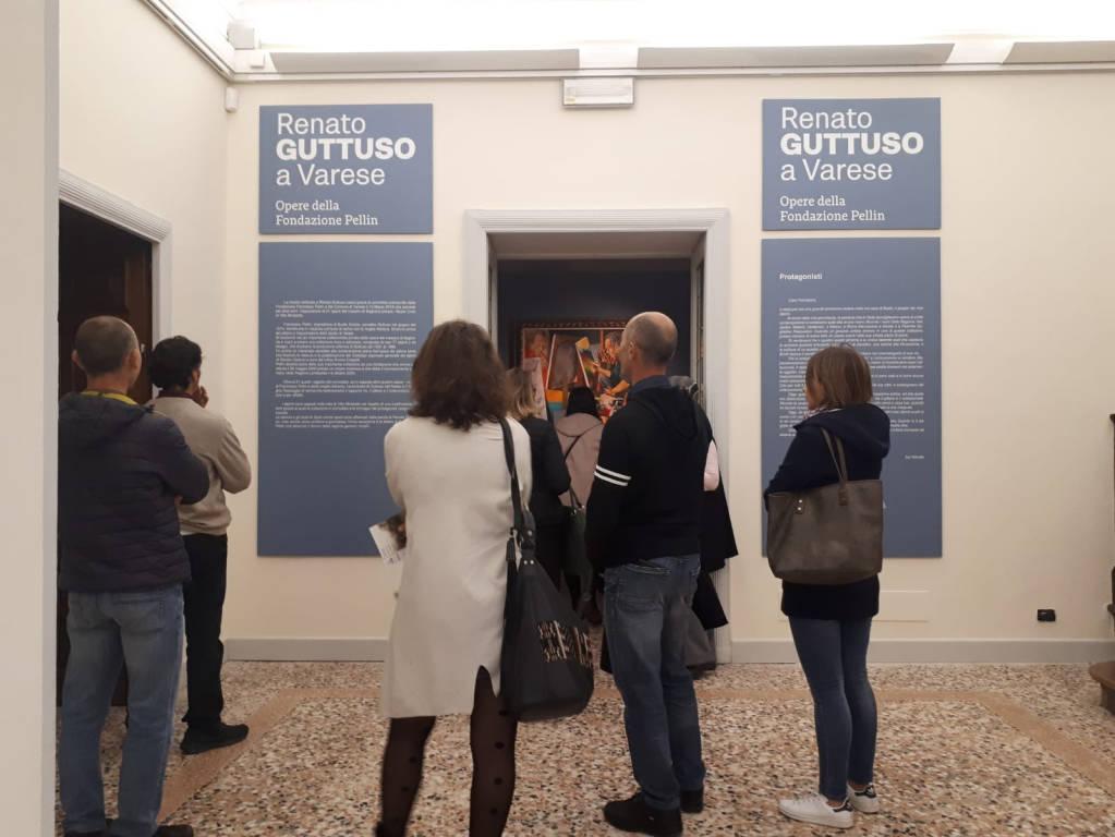 Guttuso a Villa Mirabello