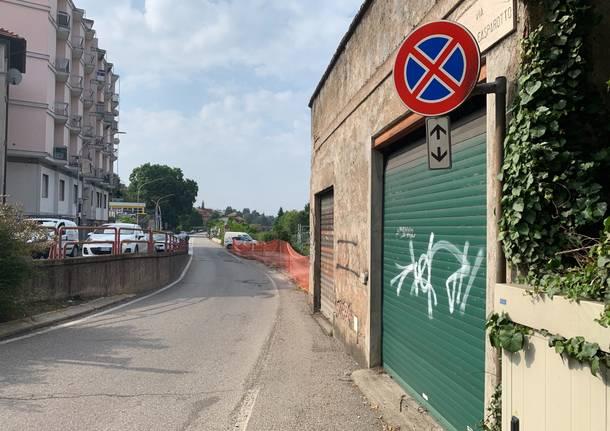 Varese - Edificio pericolante: chiuso un tratto di via Gasparotto - - Varese News