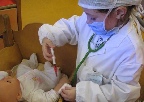Il gioco del dottore in pediatria