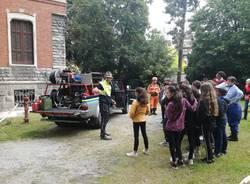 Il lavoro nel campo di protezione civile degli alpini