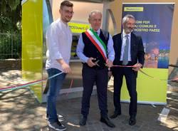 Inaugurato il primo sportello Postamat a Galliate Lombardo
