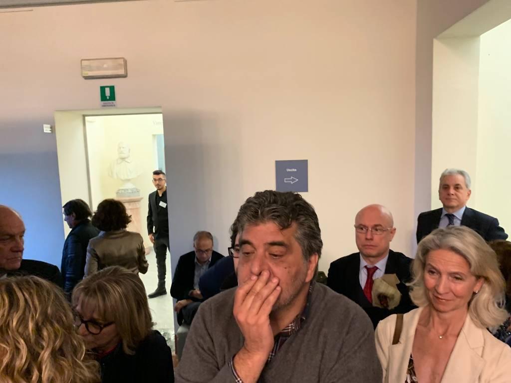 Inaugurazione della mostra Renato Guttuso a Varese