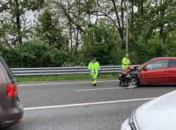 Incidente in A8 a Origgio (domenica 5 maggio)