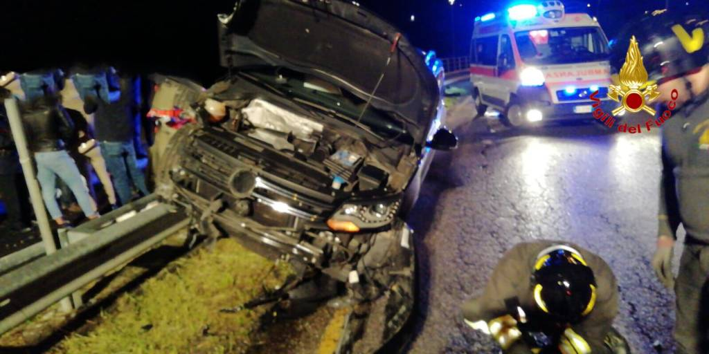Incidente stradale Malnate