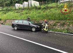 Incidente stradale, tre feriti