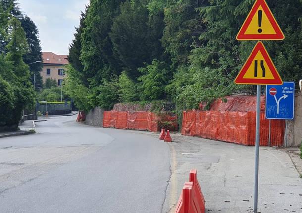 Induno Olona - Villa Castiglioni, la devastazione