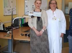 Macchinario consegnato all'oncologia di Varese in nome di Samuela Barco