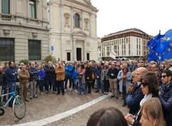 Manifestazione dimissioni Gallarate