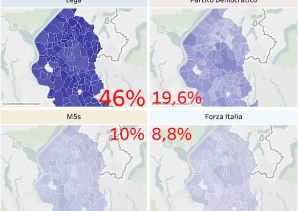 mappa voto