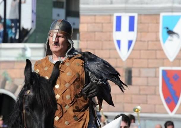 maurizio oldrini uomo del corvo sant'erasmo palio di legnano