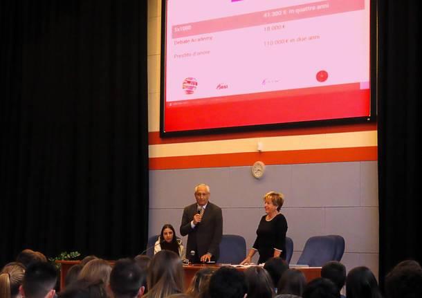 Premiazione delle certificazioni linguistiche all'Ite Tosi