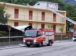 Raffiche a 70 all'ora, i danni del vento nel Varesotto (domenica 5 maggio)