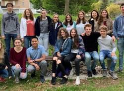 studenti del laboratorio teatrale con paolo franzato