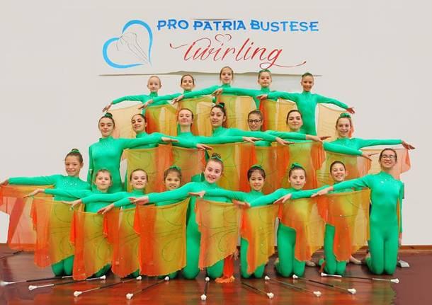 twirling pro patria bustese 2019
