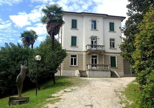 villa hussy luino bilbioteca