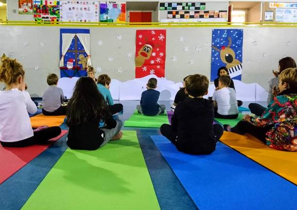 yoga mindfulness bambini castronno