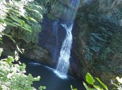 Alle cascate di Ferrera