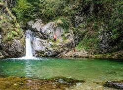 bagno fiume Canton Ticino