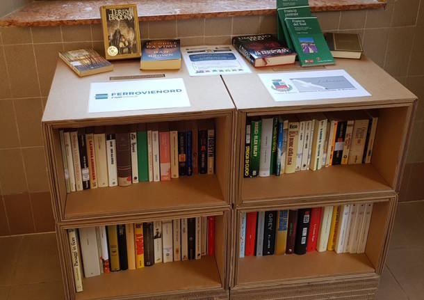 bookcrossing in stazione