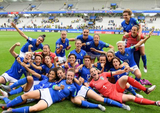 calcio nazionale italiana femminile 2019