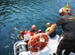 Caldè, ricerche nel lago Maggiore