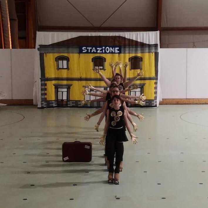 """International skating: """"il Viaggio… della vita"""""""
