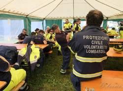 Esercitazione Protezione civile al Brizio