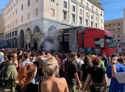 A Varese la street parade della marijuana