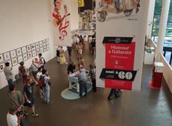 Humour a Gallarate, l\'inaugurazione della mostra