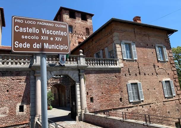 castello visconteo municipio comune fagnano olona