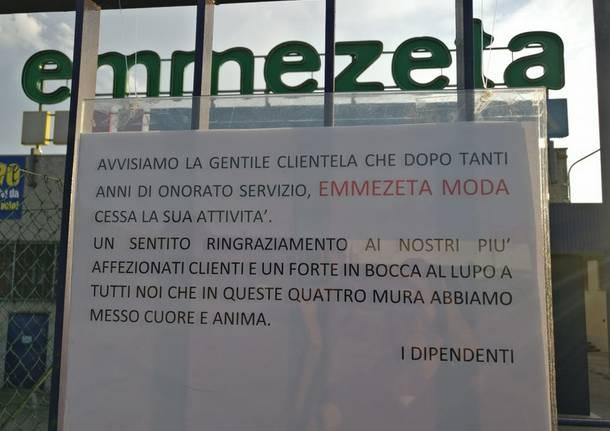 Chiude Emmezeta a Vergiate