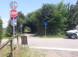ciclabile lago Comabbio Varano Borghi lavori 2019