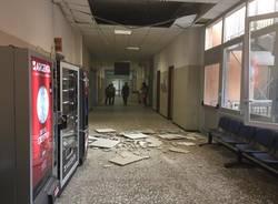crollo controsoffitto ospedale varese