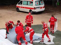 esercitazione croce rossa italiana luino e valli