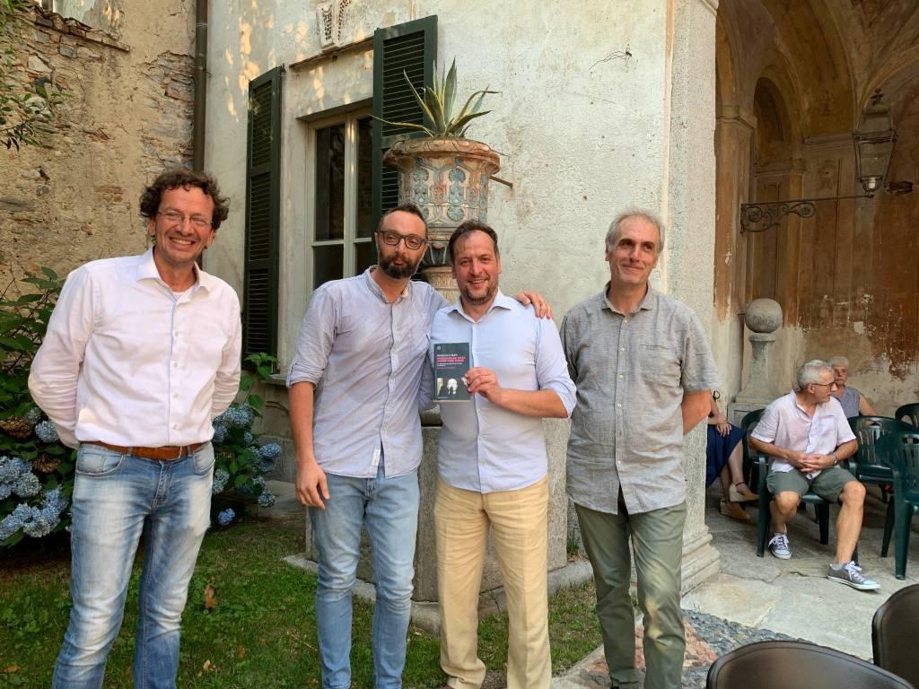Francesco Filippi, il suo libro su Mussolini ad Azzate