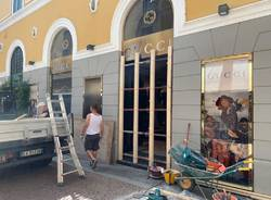 Furto alla Gucci di Varese