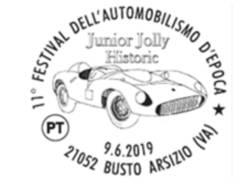 annullo postale festival automobilismo
