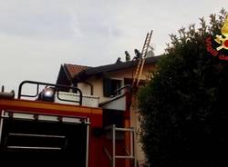 incendio tetto besozzo