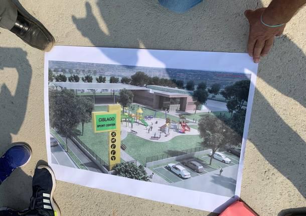 Il centro sportivo di Cislago costruito coi soldi di Pedemontana
