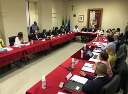 Il nuovo consiglio comunale di Tradate (sindaco Giuseppe Bascialla)